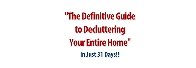 Get Started Decluttering Your Home Today