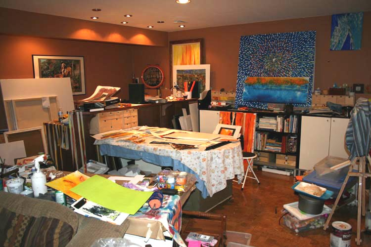 Day 24 Organizing Your Craft Room Studio Workshop
