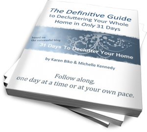 The 31 Days To Declutter Your Home Guide